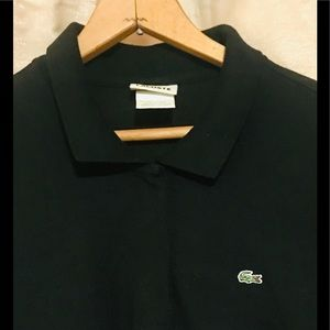 LACOSTE long sleeve polo.🐊